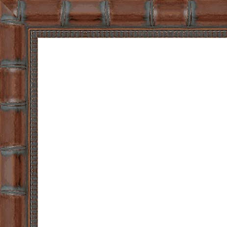 Amazon.com - 10x14 - 10 x 14 Brown Bamboo Solid Wood Frame with UV ...