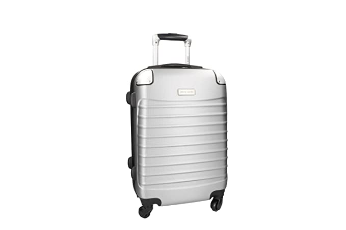 Maleta rígida PIERRE CARDIN silver mini equipaje de mano ryanair 4 ruedas