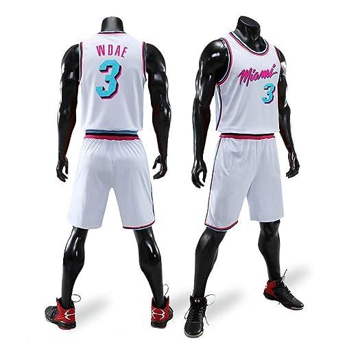 XSSC NBA Traje de Ropa de Baloncesto Wade Heat 3th City Edition ...