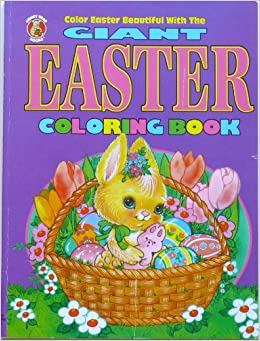 GIANT EASTER COLORING BOOK Modern Publishing 9780766610811 Amazon Books