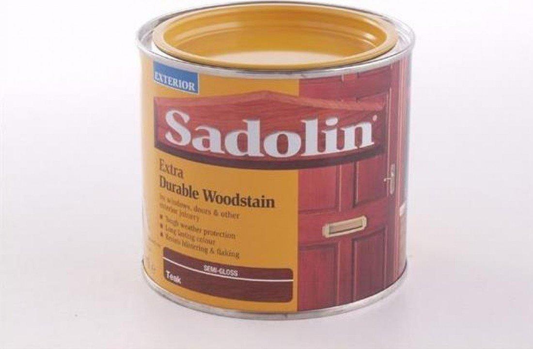 Buy Sadolin Extra Durable Woodstain Teak 1 Litre Online at Low