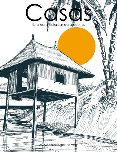 Amazoncom Casas Libro Para Colorear Para Adultos 1 Volume 1