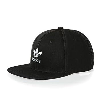 adidas AC Cap tre Flat Gorra, Unisex bebé, Negro/Blanco, Talla ...