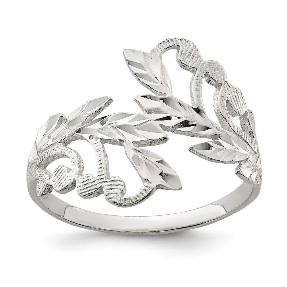Size 8 925 Sterling Silver Fancy Ring