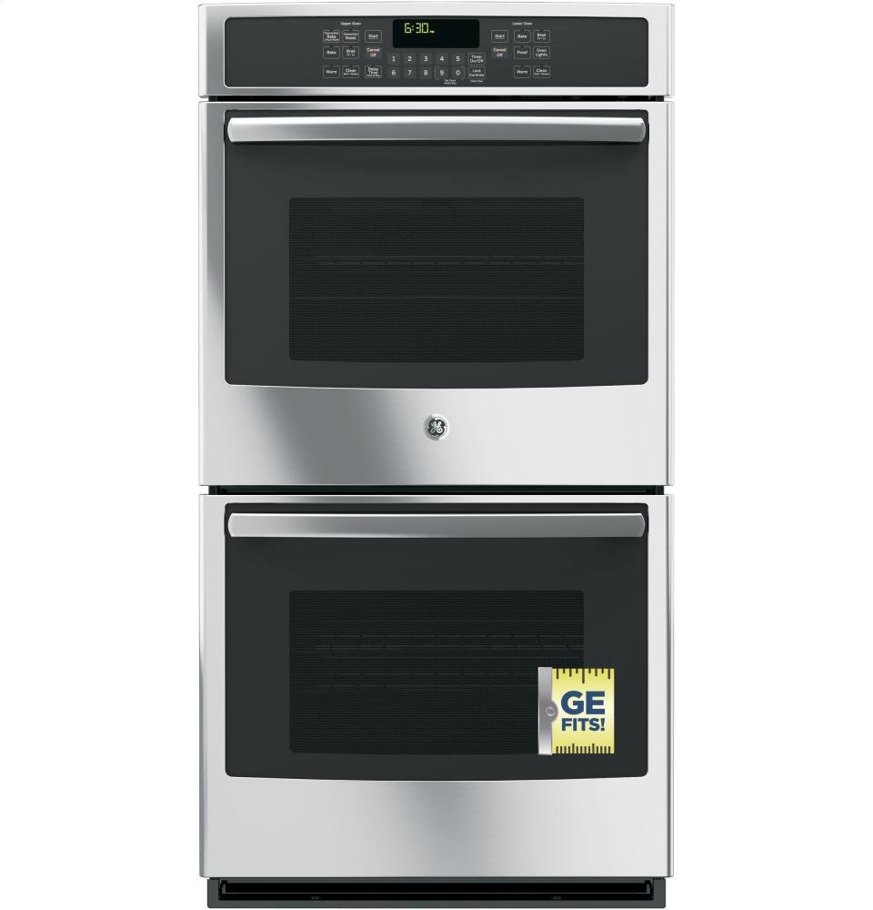 GE JK5500SFSS 27 Built-In Double Convection Wall Oven In Stainless Steel