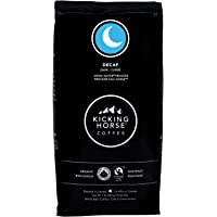 Kicking Horse Coffee, Decaf, Swiss Water Process, Dark Roast, Whole Bean, 1 lb - Certified Organic, Fairtrade, Kosher Coffee