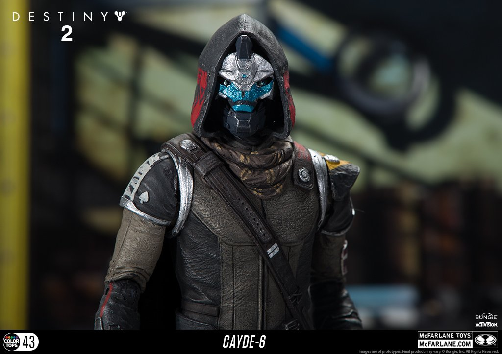 McFarlane Toys 13040-9 Destiny 2 Cayde 6 Collectible Action Figure by McFarlane Toys (Image #7)