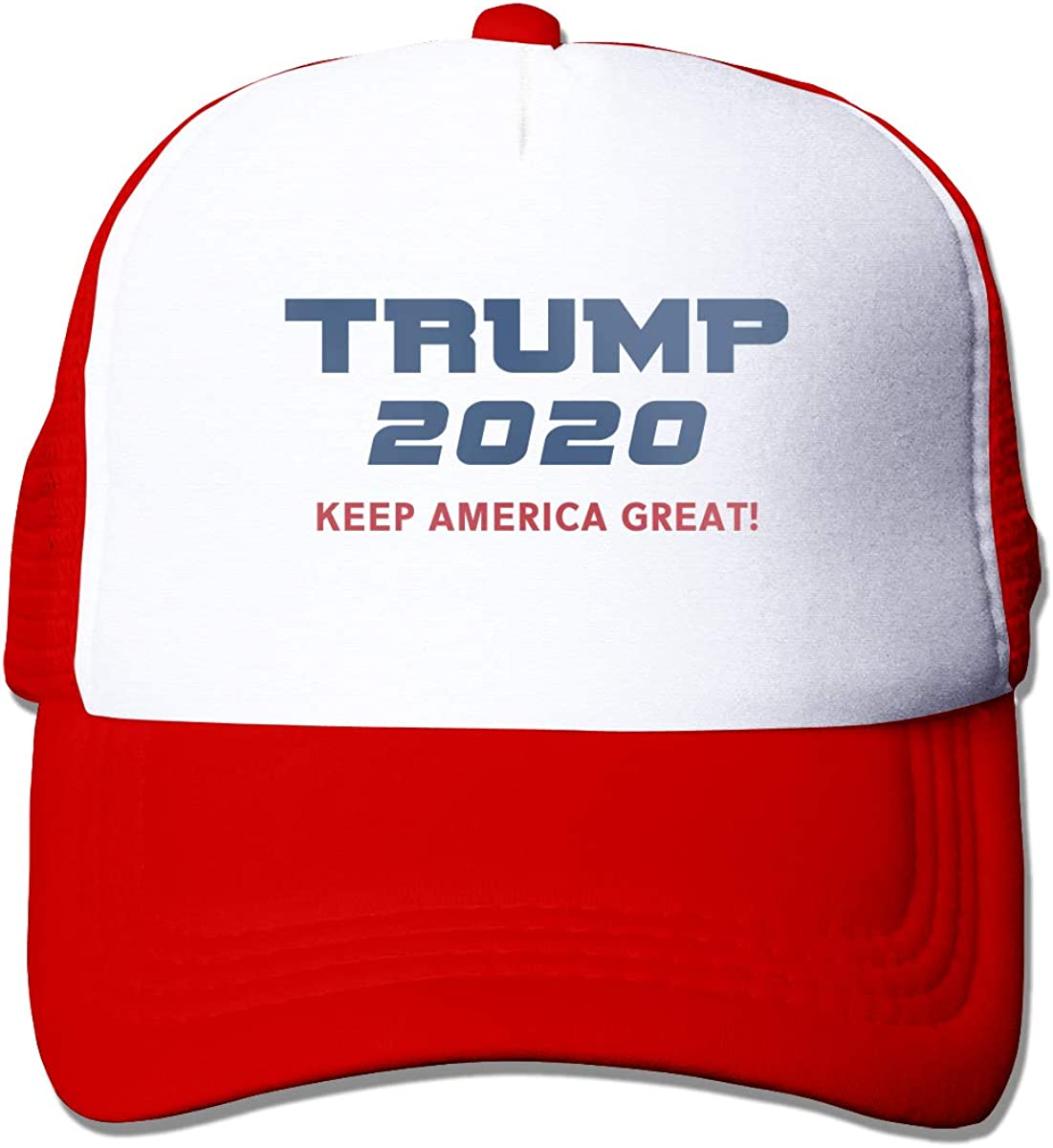 Zhiwei Station MAGA Hat Make America Great Again Donald Trump Slogan with USA4 Unisex 3D Printed Trucker Hat