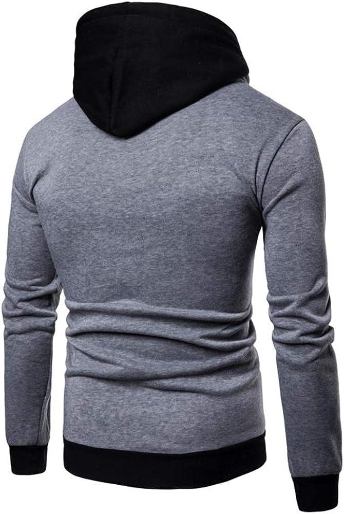 SFYZY Hombre Chaqueta De La Caliente Delgada del Otoño Invierno De Outwear El Suéter Sudadera con Capucha Suéter Manga Larga para Casual Streetwear