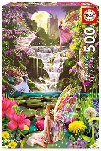 [Educa Boras Waterfall Fairies Puzzle] (Fairy Costumes Uk)