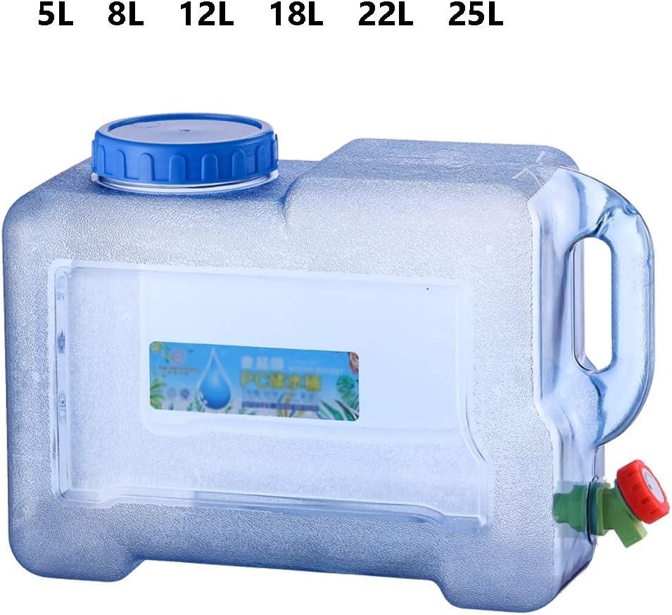 12L F/ür Auto- Und Reisezwecke 18L 25L Gro/ßraum 5L Wasserkanister| Getr/änkebeh/älter Mit Wasserhahn Size : 22L 8L 22L