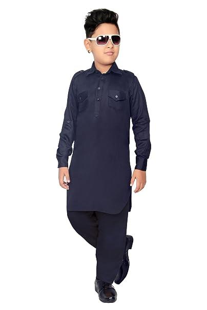 c5413dcf6 BEDI'S Boys Pathani Salwar Suit Kurta Set Indian Pakistani Shalwar Suit  Wedding Party Wear Bollywood Ethnic