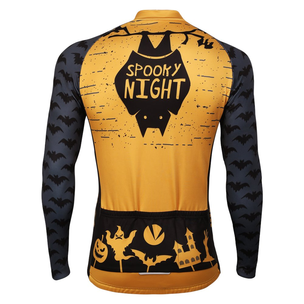 Amazon.com   PANDOOM Outdoor Sports Men s Windproof Long Sleeves Winter  Fleece Thermal Cycling Bicycle Jersey Jacket   Sports   Outdoors 26e5eefa9