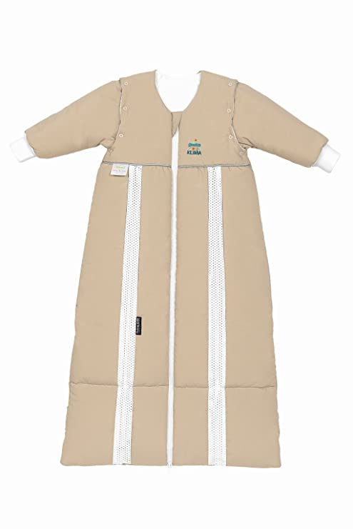 odenwälder prima climática Thinsulate de saco de dormir con mangas Arena Talla:110-130