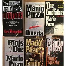 Mario Puzo Godfather Mob Series 6 Book Set
