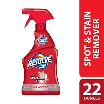 Amazon.com: Resolve Carpet Spot & Stain Remover, 22 fl oz Bottle, Carpet Cleaner: Prime Pantry