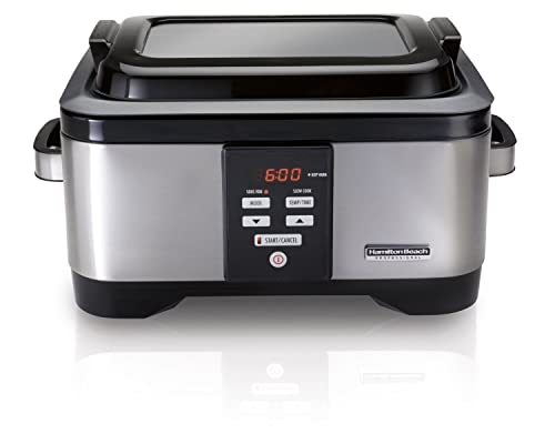 Hamilton Beach Professional Sous Vide Water Oven And Slow Cooker