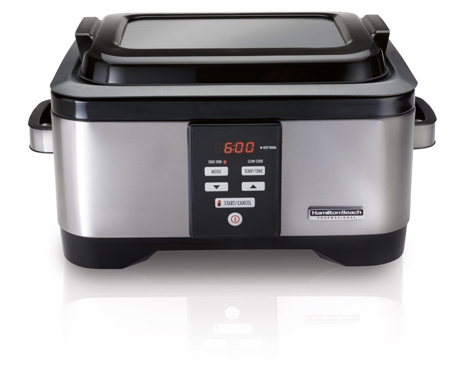 Hamilton Beach Professional Sous Vide Water Oven & Slow Cooker, 6 Quart Programmable, Stainless Steel (33970)