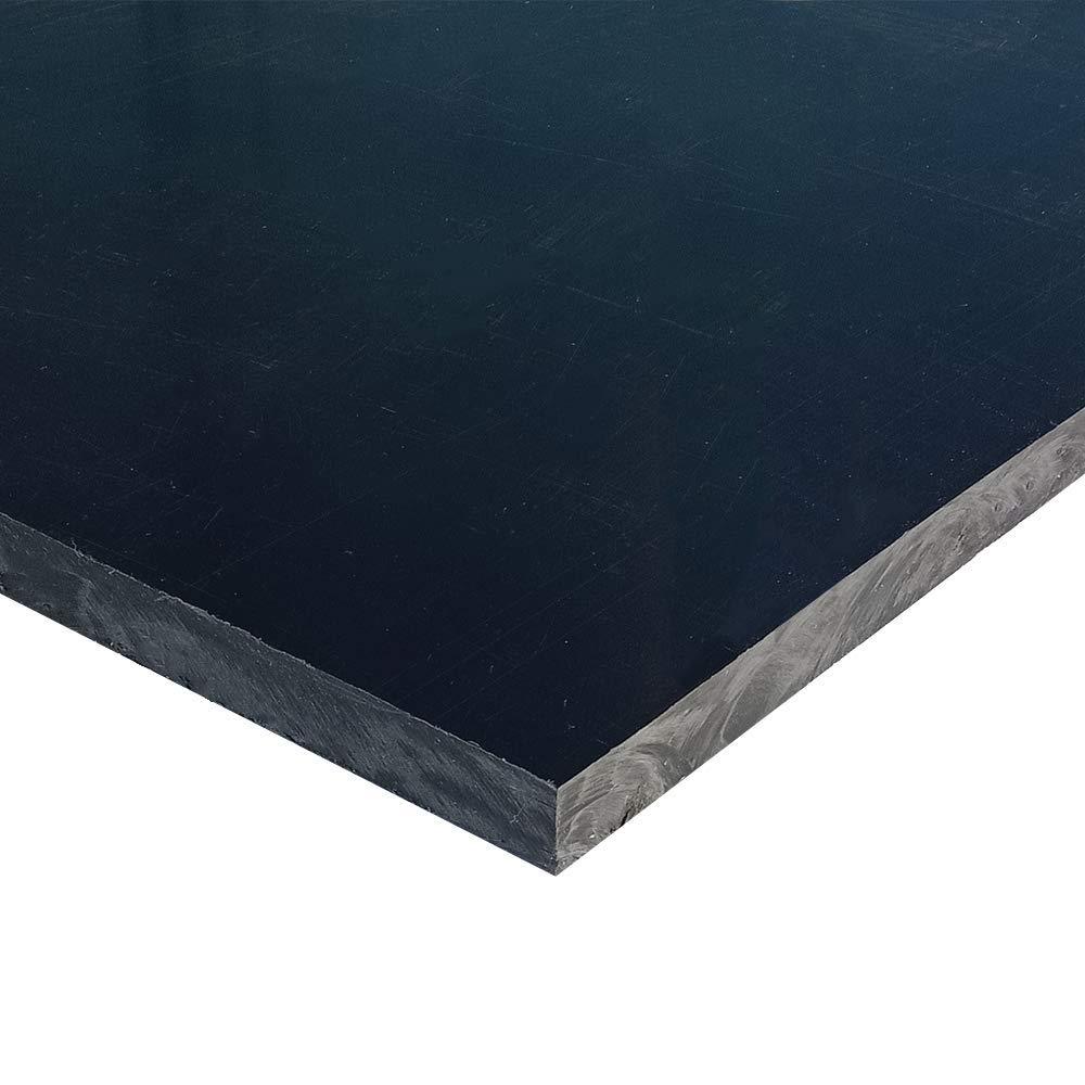 "3//8/"" DELRIN BLACK 9/"" X 15/"" CNC PLASTIC G"
