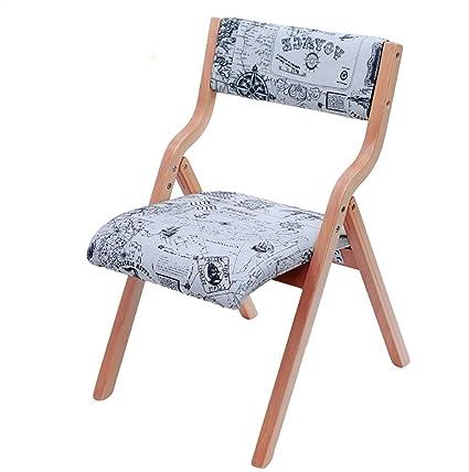 Chair QL sillones Plegables Silla de Comedor Informal Silla ...