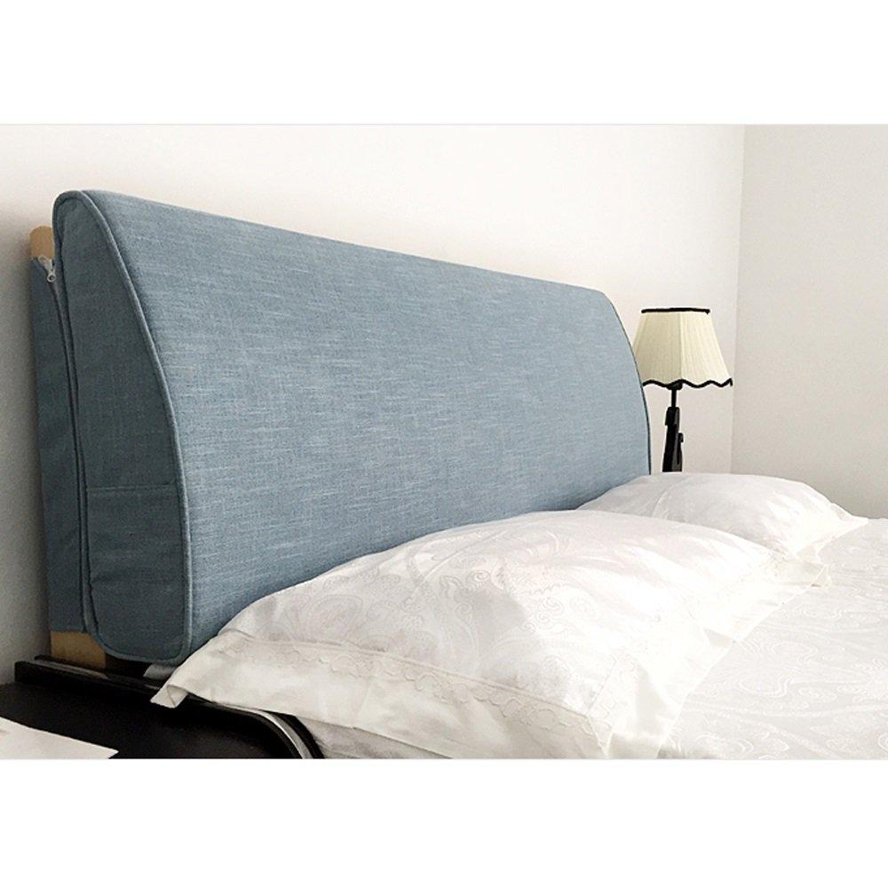 Kissen Leinenbett Bett Soft Bag Großes Rückenpolster Größenkissen, Abnehmbar Waschbar (Farbe   1 , größe   180  10  50cm)