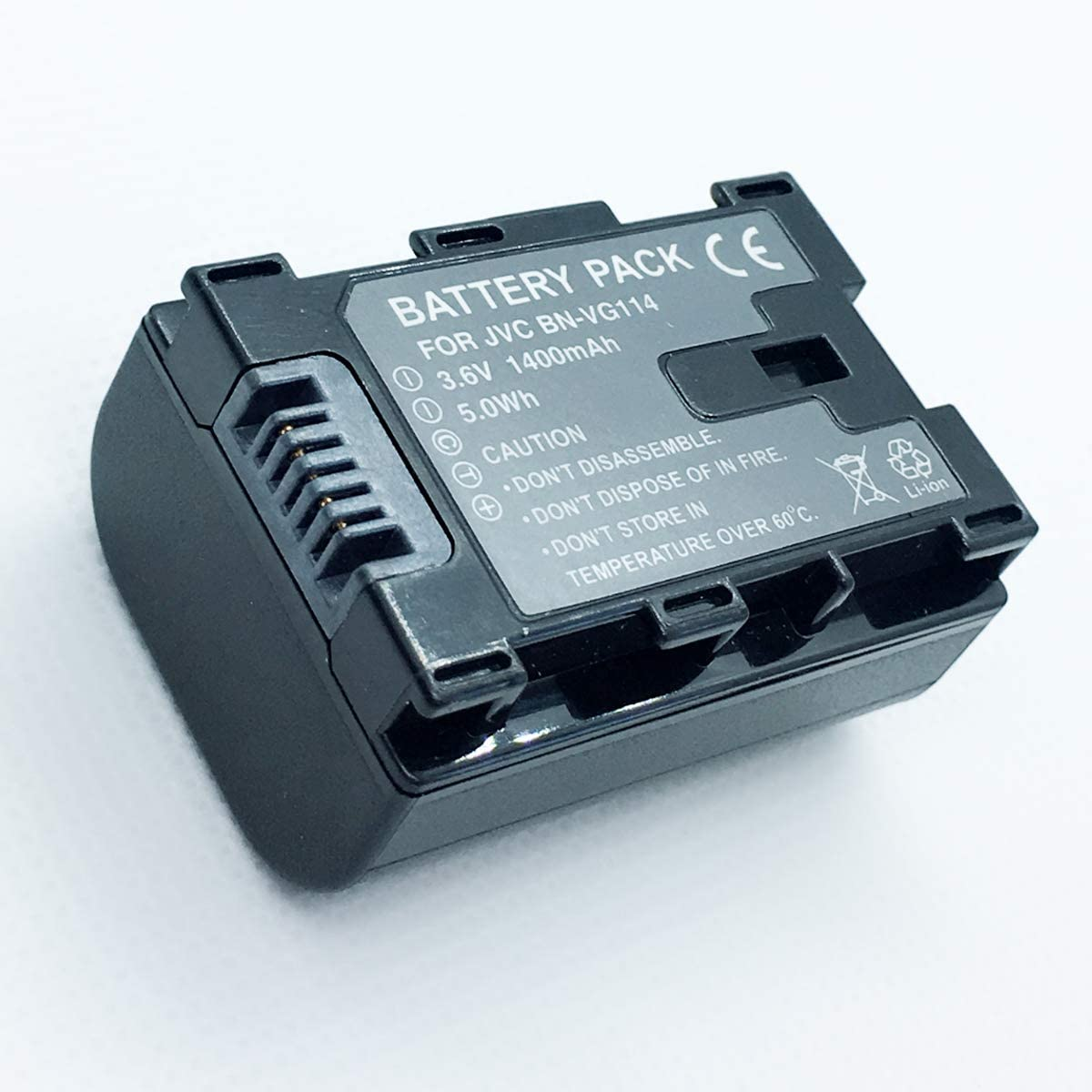 Rechargeable Battery Pack for JVC Everio GZ-MS230AU GZ-MS230BU GZ-MS230RU Flash Memory Camcorder