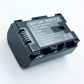 Amazon.com : Rechargeable Battery Pack For JVC Everio GZ-EX355