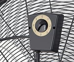 Orbegozo PWT 3061 Power Fan Profesional - Ventilador industrial, 150 W, 3 velocidades, diámetro hélice 60 cm, ruedas para transporte, Negro: Amazon.es: Hogar