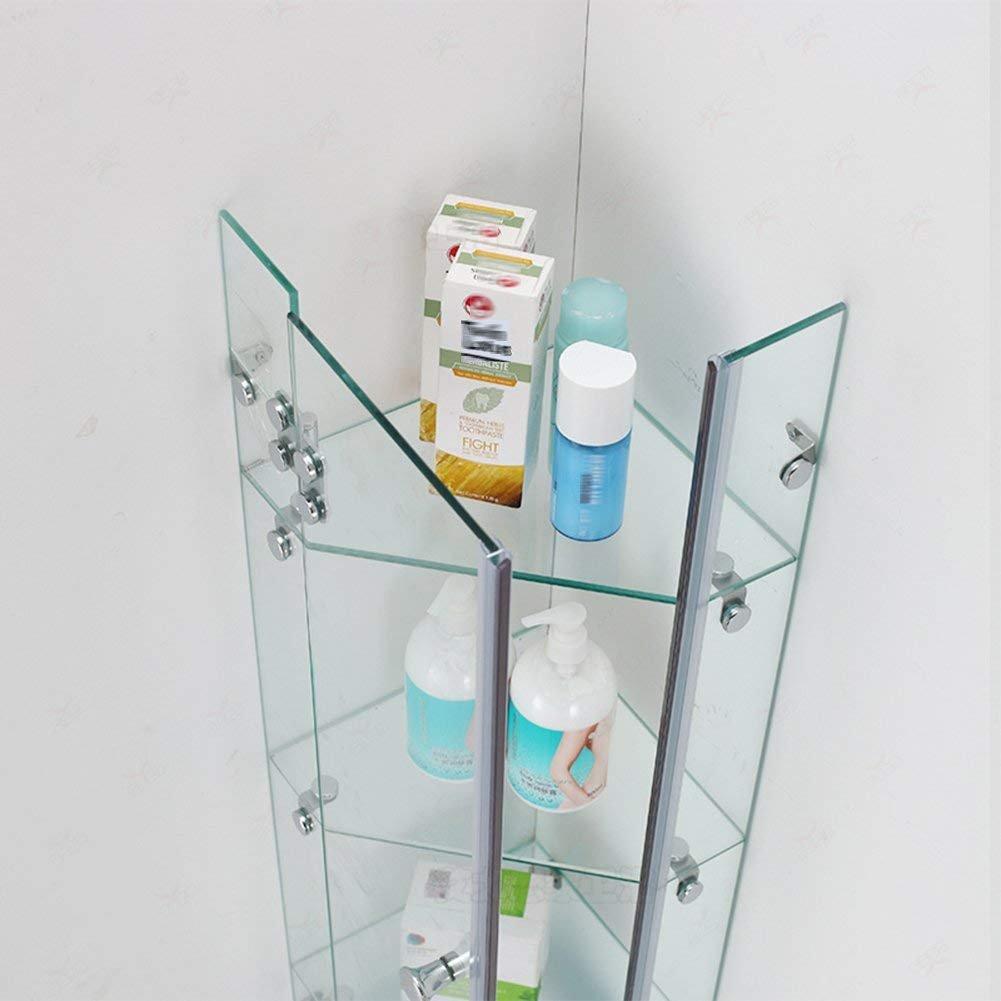 EQEQ Bath Rooms with Shower Washroom Rack Shelf On The Wall of The ...