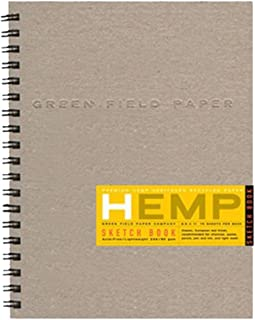 """product image for Hemp Sketch Book, Large 8.5"""" x 11"""""""