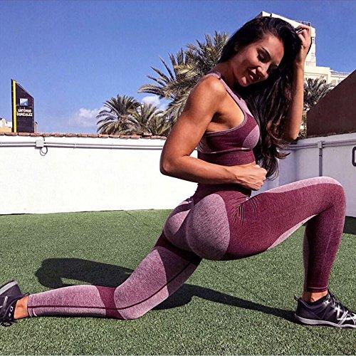 Sportivi Leggins Fit Pantalone Donna Fitness Jogging Pantaloni Eleganti Gym Slim Elastico Per Con Vita K Yoga Mambain Alta q8wIz0