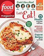 Who Reads Food Network Magazine? The Food Network Magazine reader is a total food enthusiast--passionate, imaginative, and sees cooking as an expression of their creative spirit. Whether it's a quick weeknight meal or planning a dinner party ...