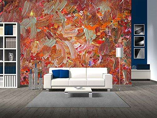 Analog Painted Background Texture Brushstrokes