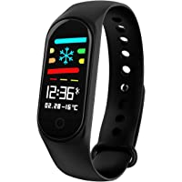 ZOYJITU Fitness Tracker Heart Rate Monitor Smart Bracelet Activity Tracker Bluetooth Pedometer with Sleep Monitor Smartwatch for Android or iOS Smartphones