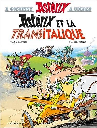 Astérix le gaulois (37) : Astérix et la transitalique