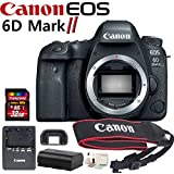 Canon EOS 6D Mark II Digital SLR Camera Bundle (Body)