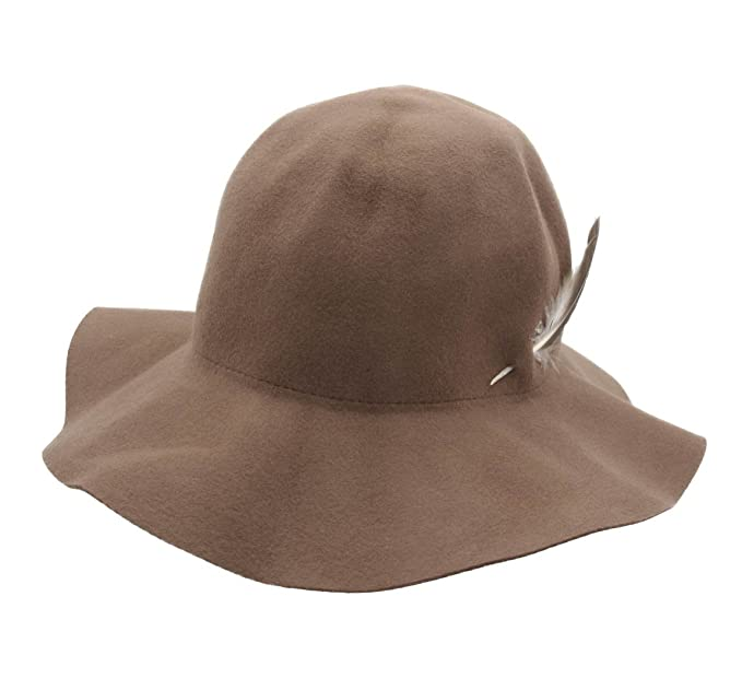 10ef5804ba077 Brixton Jethro Wool Felt Floppy Hat Size S  Amazon.ca  Clothing ...