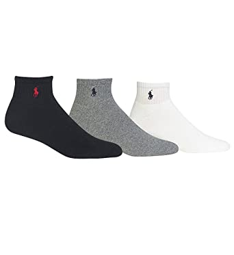 14338952 Polo Ralph Lauren 3-Pack Classic Cotton Ankle Socks