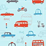 Hoopla Kindertapeten DL30706 Autos blau