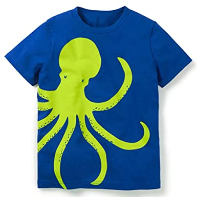 fc2b95df6dccb Vêtements Bebe Ete Oyedens Enfants Garçons Filles T-Shirts Garçon 1 à 5 Ans  Hauts