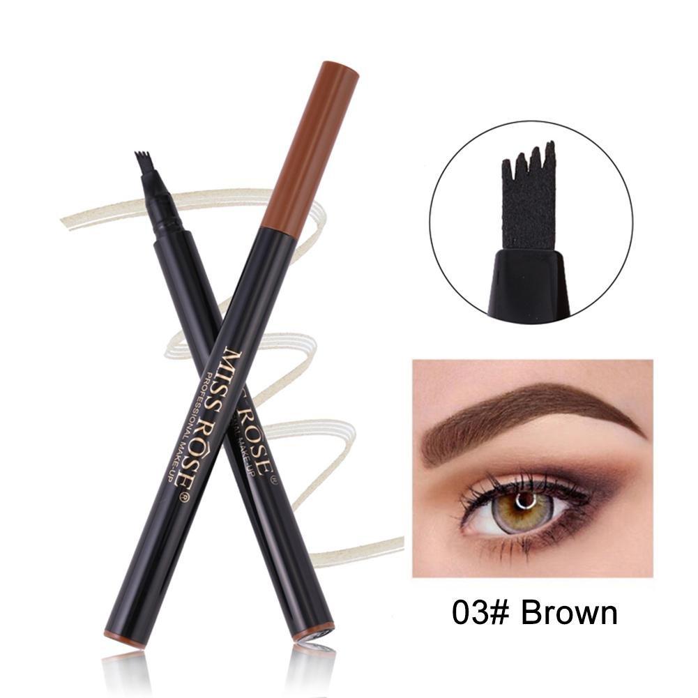Alian Liquid Eyebrow Tattoo Pen, Waterproof,Four-Fork, Long Lasting
