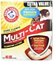 Arm & Hammer Multi-Cat Extra Strength Fresh Scent Clumping Litter by Church & Dwight-Grocery
