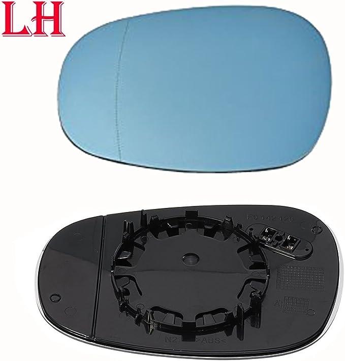 Ricoy Für E81 E88 E90 E91 E92 116i 2009 2012 Oem Türspiegelglas Beheizt Blaues Glas Links Auto
