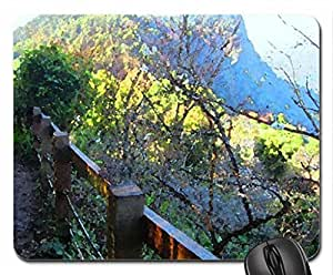 Toward to the top of the hill Mouse Pad, Mousepad (Mountains Mouse Pad, 10.2 x 8.3 x 0.12 inches)