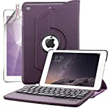 iPad Mini Keyboard Case, Boriyuan Detachable Wireless Bluetooth - Best Reviews Guide