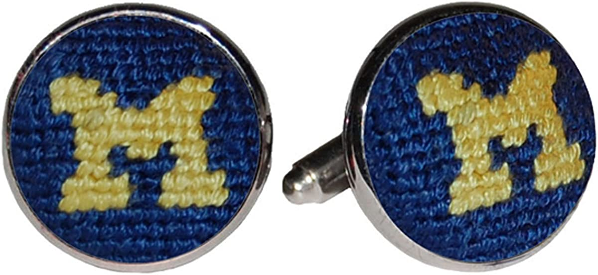 University of Michigan Wolverines Cufflinks by Smathers /& Branson