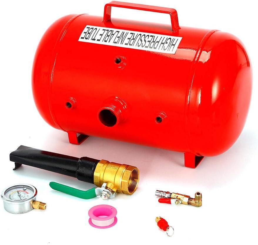 Reifenf/üller Booster Reifenschockf/üller 40L Airbooster Schockf/üller Luftkanone Bef/üllhilfe Reifen F/üller