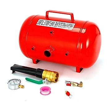 SHIOUCY - Bomba de Aire para neumáticos, 40 L, compresores de Aire portátiles,