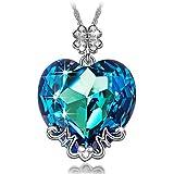 LADY COLOUR - Mamma, Ti amo - Collana donna con cristalli da SWAROVSKI® - la collezione CUORE DI CRISTALLO