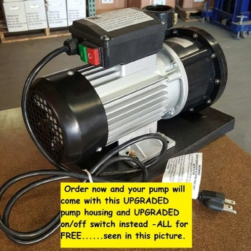 Columbia 2 hp above ground pool pump motor all pools for Motor for pool pump